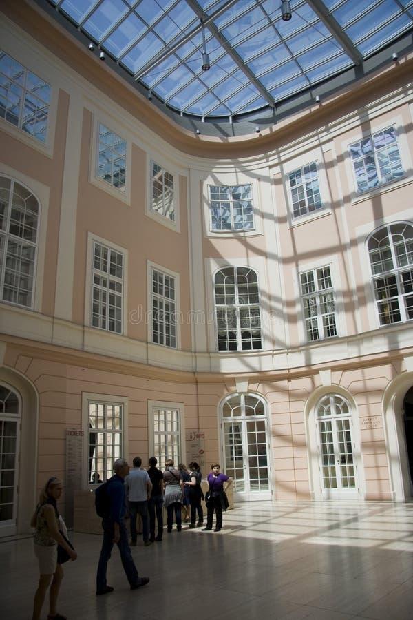 интерьер залы штольни albertina стоковые изображения