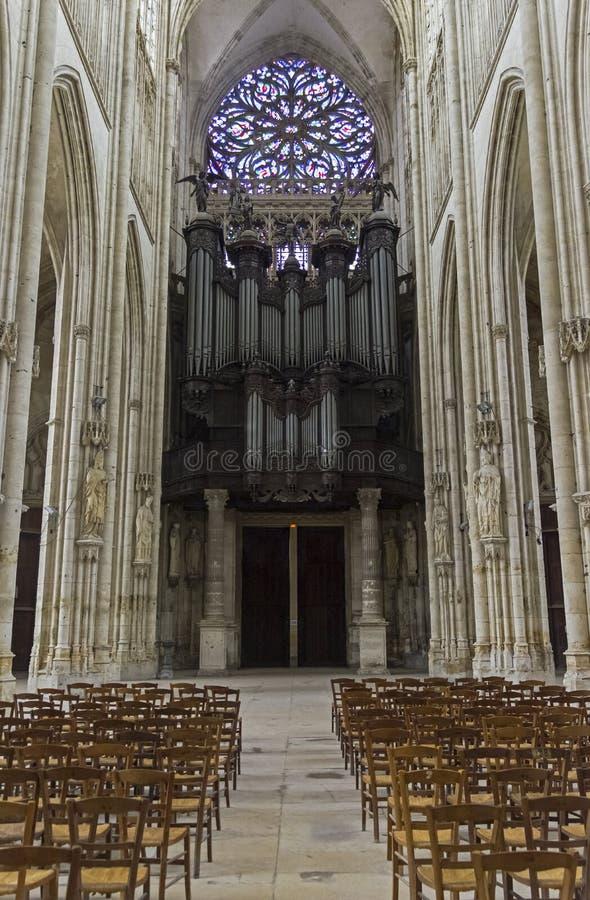 Интерьер католического виска стоковые изображения rf