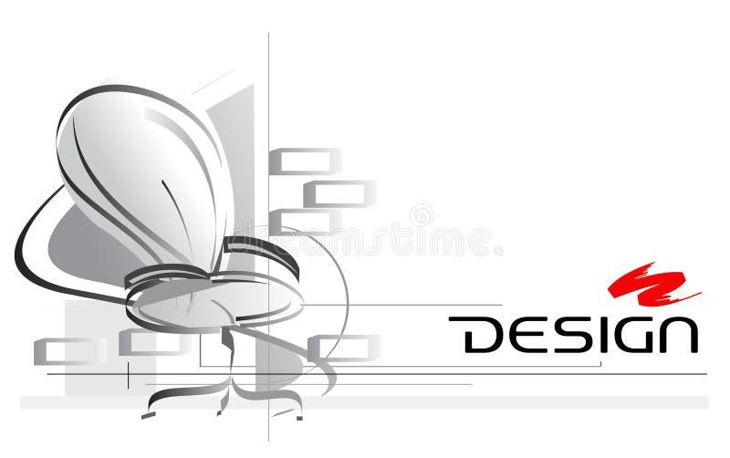 интерьер конструкции иллюстрация вектора
