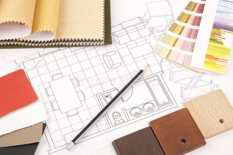 интерьер конструкции стоковое изображение