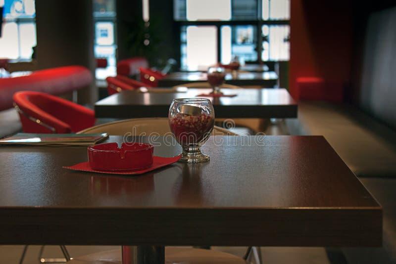 Интерьер кофейни стоковое фото