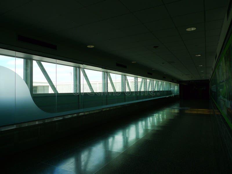 Интерьер международного аэропорта Tulsa стоковое изображение