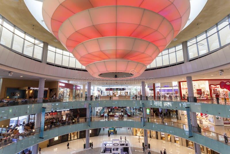 Интерьер мола Дубай стоковые изображения rf