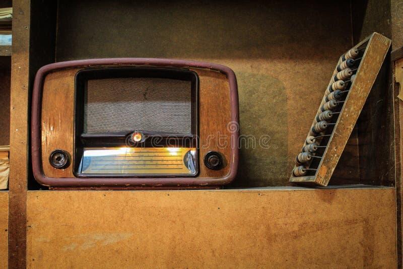 Интерьер объектов домашней комнаты со времени Советского Союза стоковые изображения