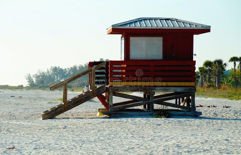 Интерьер пляжа House стоковая фотография rf