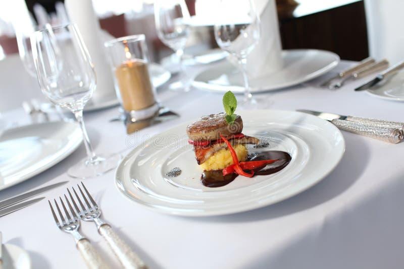 Интерьер ресторана стоковое фото rf