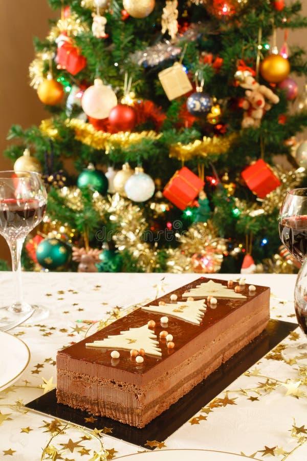 Интерьер рождества домашний стоковые фотографии rf