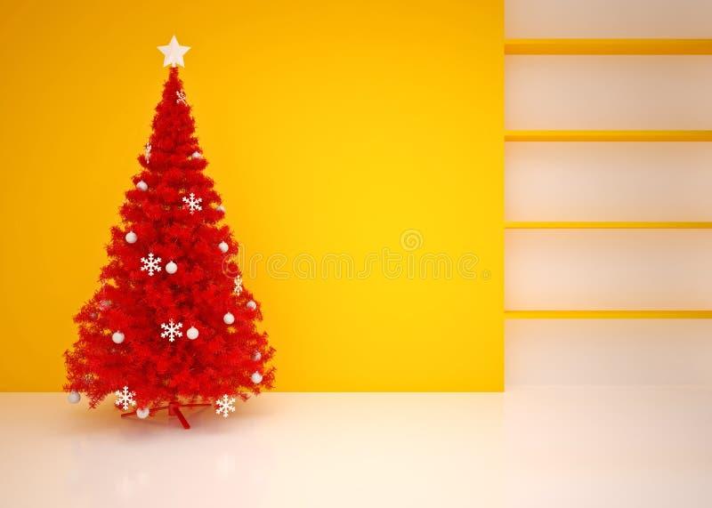 Интерьер рождества пустой стоковое изображение rf