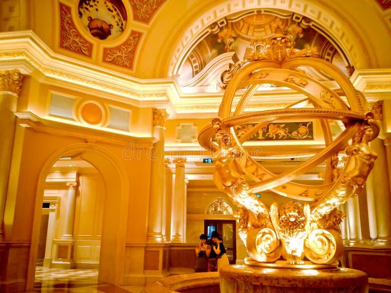 Интерьер роскошной гостиницы стоковое изображение rf