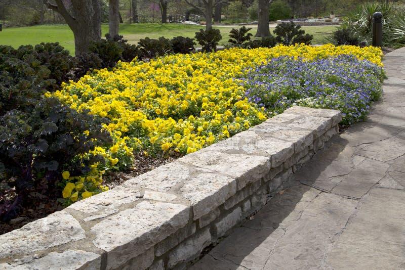 Интерьер сада Fort Worth ботанического стоковое изображение