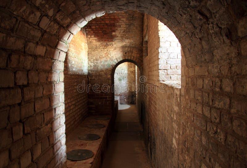 Интерьер Тейлора форта стоковая фотография rf