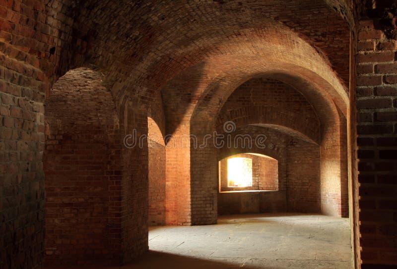 Интерьер Тейлора форта стоковые фото