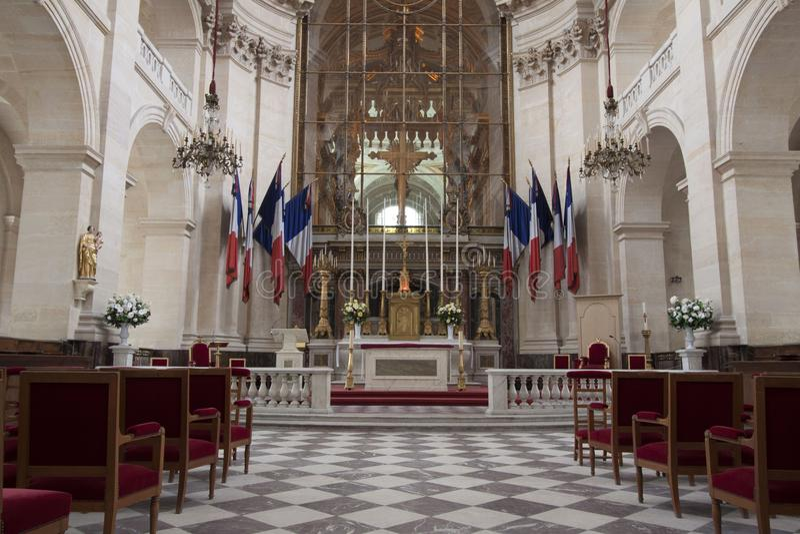 Интерьер церков в Париже стоковое изображение