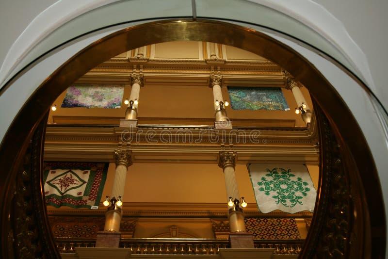 интерьер denver капитолия здания стоковые фото