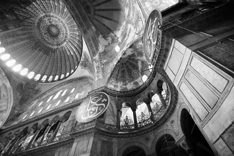 Интерьер Hagia Sophia стоковое фото rf