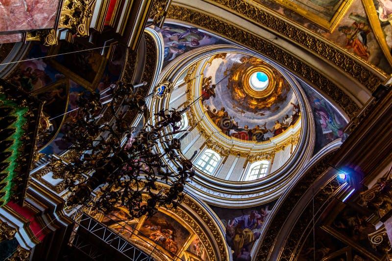 Интерьер St Paul стоковое изображение