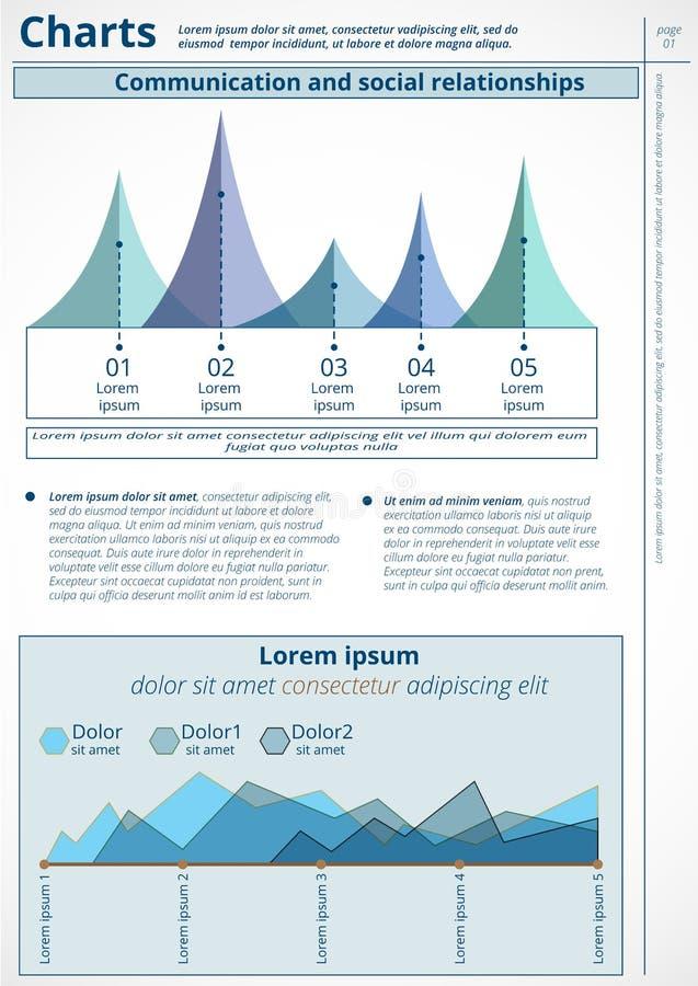 Инфографика иллюстрация вектора