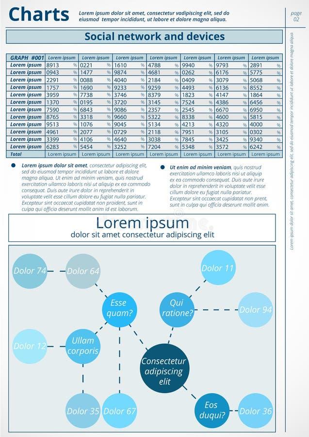 Инфографика бесплатная иллюстрация