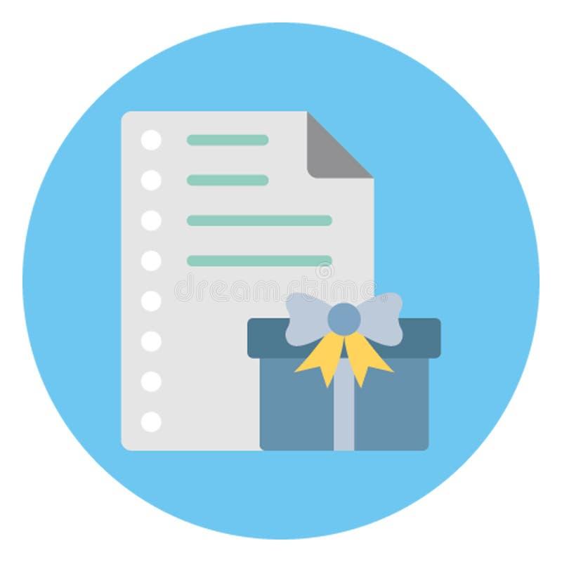 Информация для потребителей, адрес доставки изолировала значок вектора который можно легко редактировать иллюстрация штока