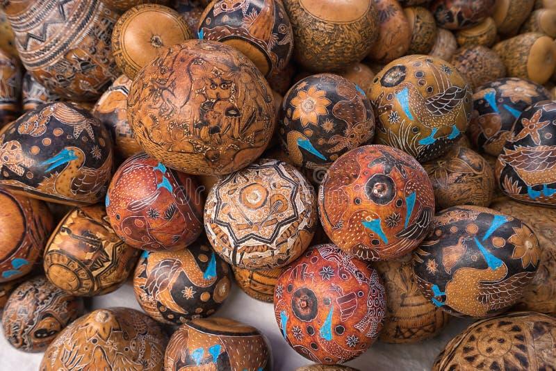 Индигенные quechua ремесла в эквадоре стоковое изображение