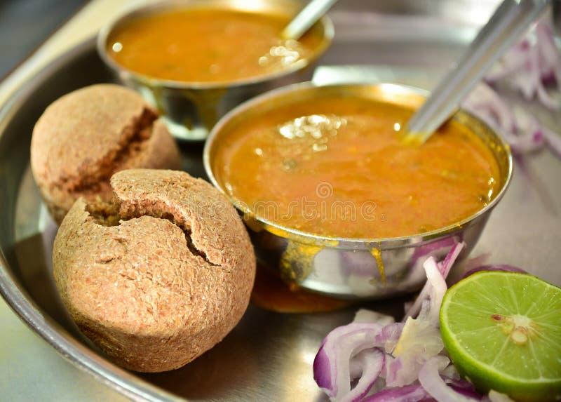 Индийская еда Rajasthani стоковые изображения