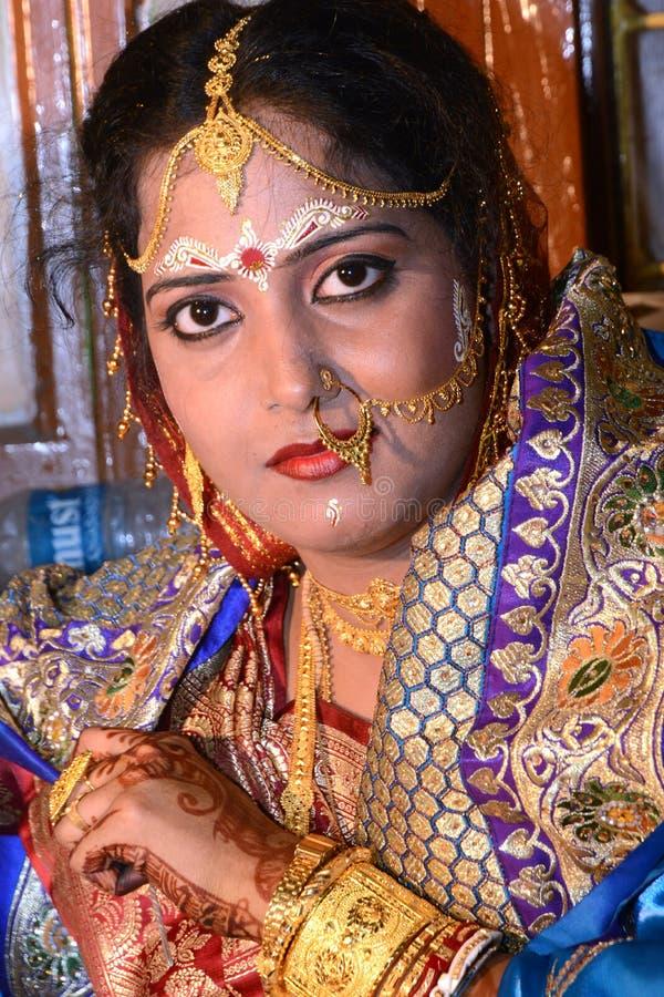 индийская женщина стоковая фотография rf