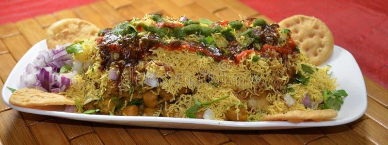 Индийская закуска вечера стоковое изображение rf