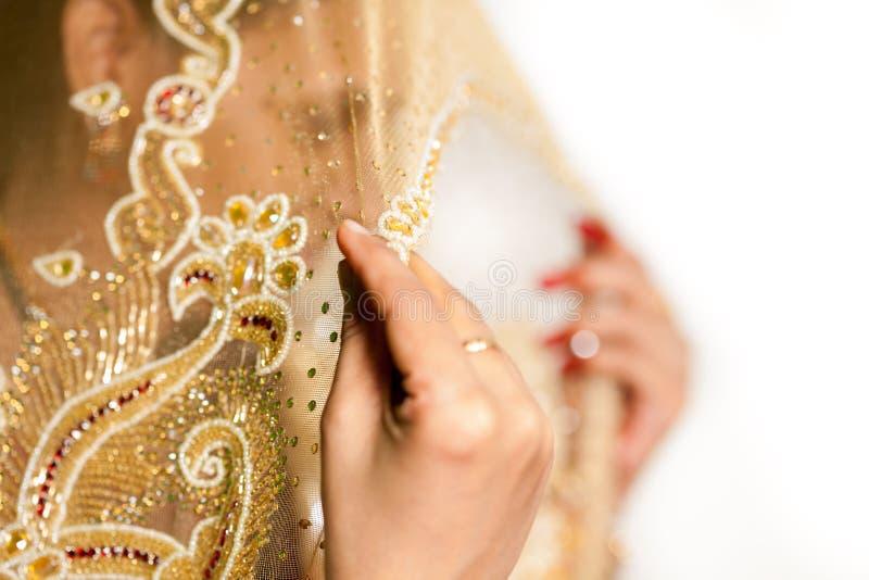 Индийская невеста стоковое изображение