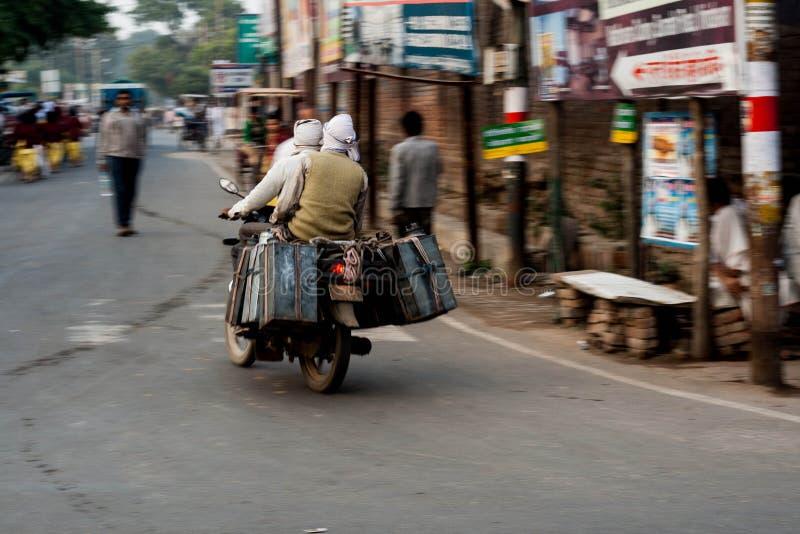 Индийская дорога стоковые изображения