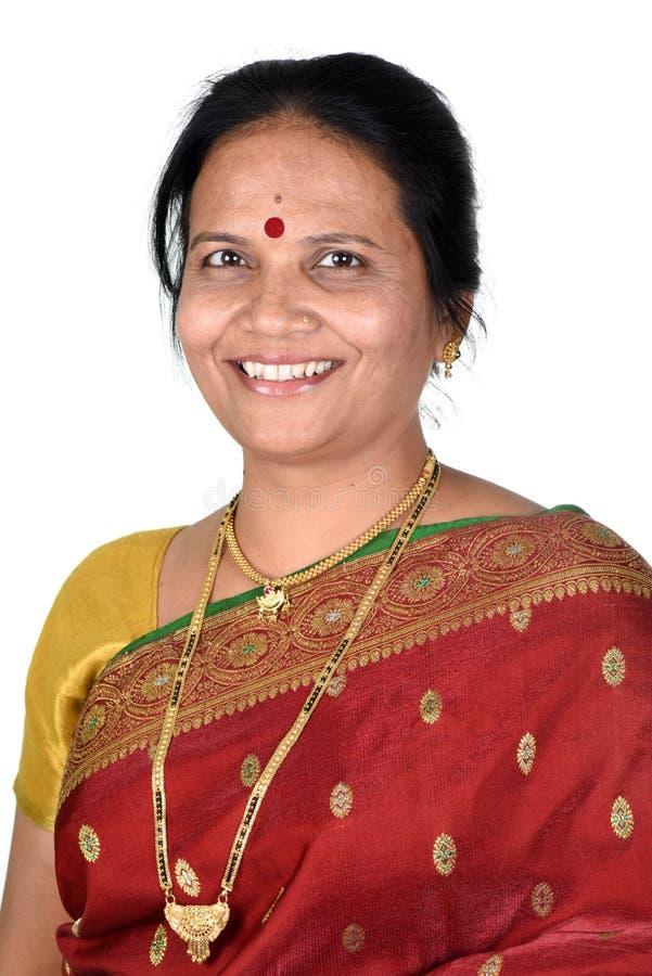 индийская традиционная женщина стоковая фотография