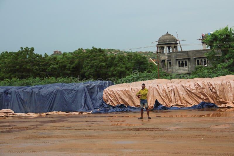 Индийские бедные стоковое фото rf