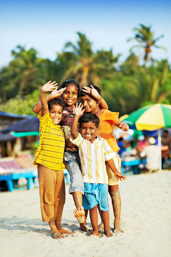 Индийские дети стоковые изображения