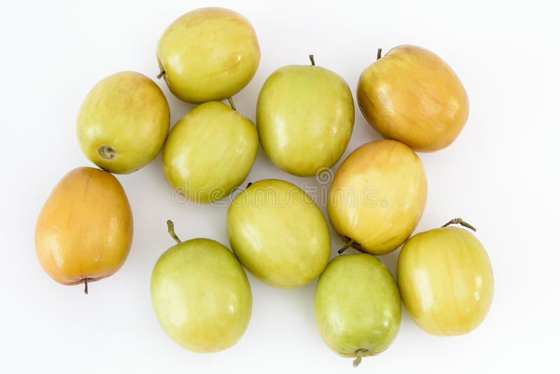 Индийские плодоовощи сливы или jujube стоковое фото rf