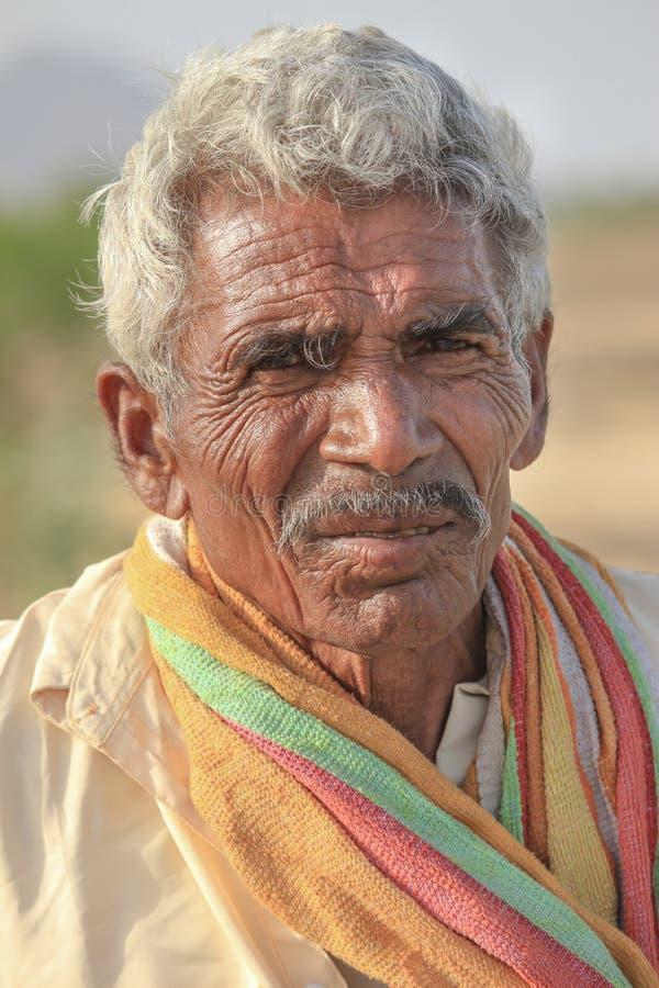 Индийские сельские жители стоковые фотографии rf