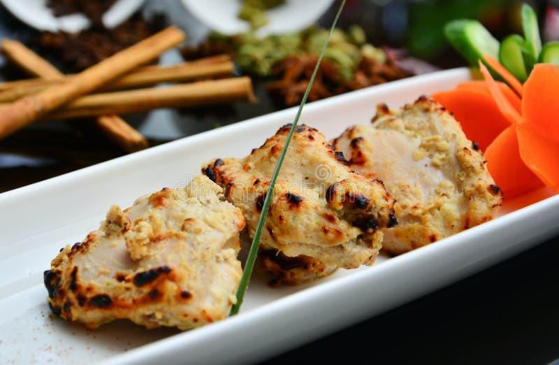 Индийские части цыпленка стоковые фотографии rf