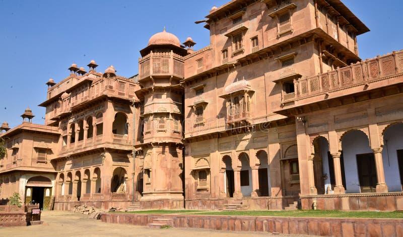 Индийский дворец на Раджастхане стоковая фотография rf