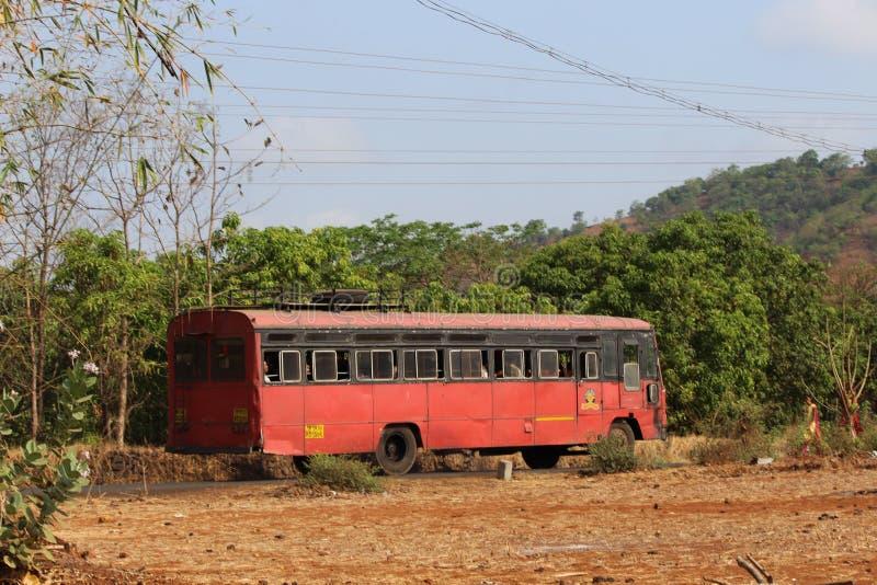 Индийский переход деревни стоковое фото rf