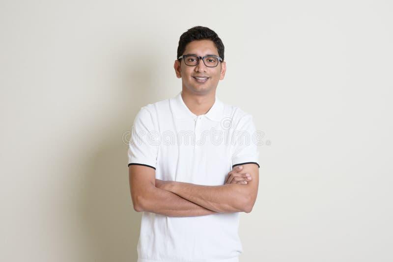 Индийский портрет парня стоковое изображение