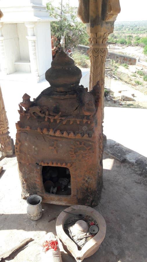 Индийский старый висок стоковое фото rf