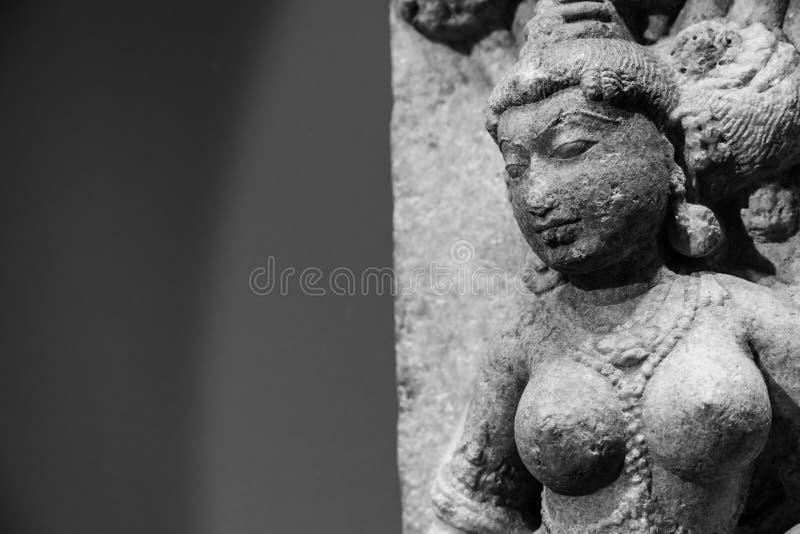 Индийский танцор стоковые фотографии rf