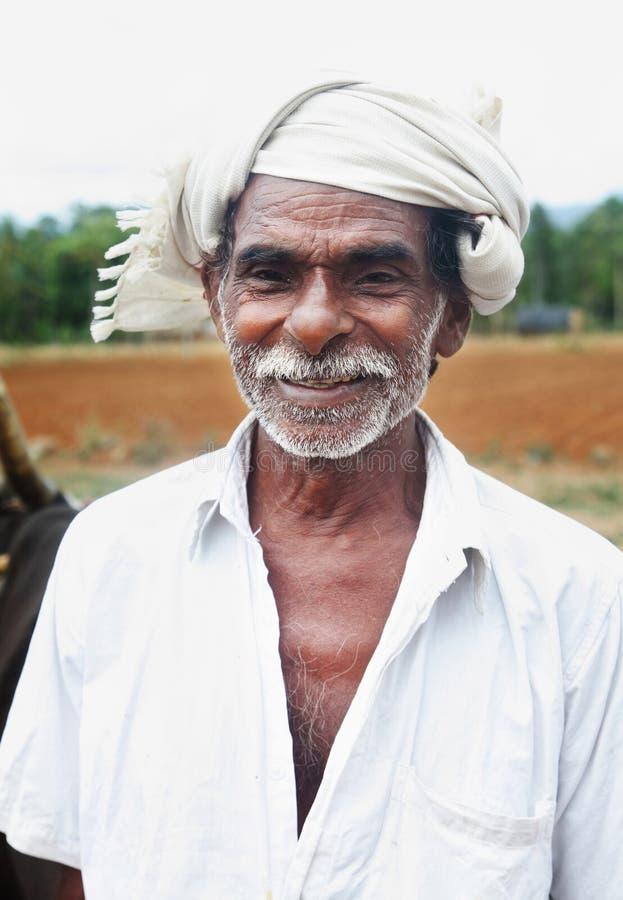 Индийский хуторянин стоковое фото