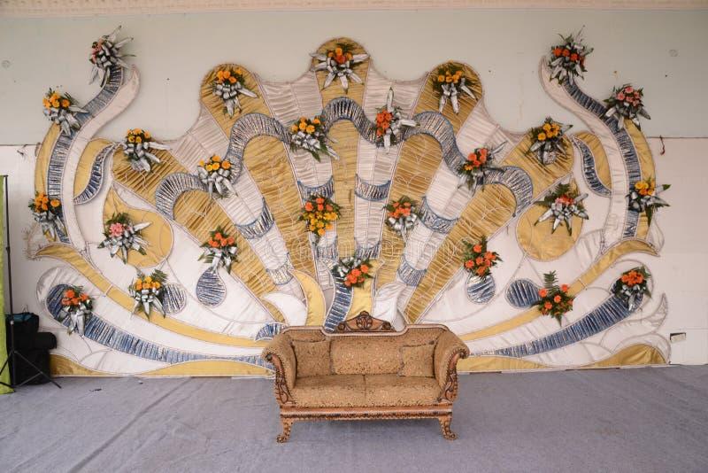 Индийское замужество Hall стоковое изображение