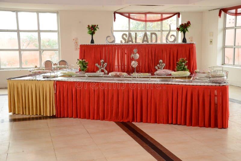 Индийское замужество Hall стоковые изображения rf
