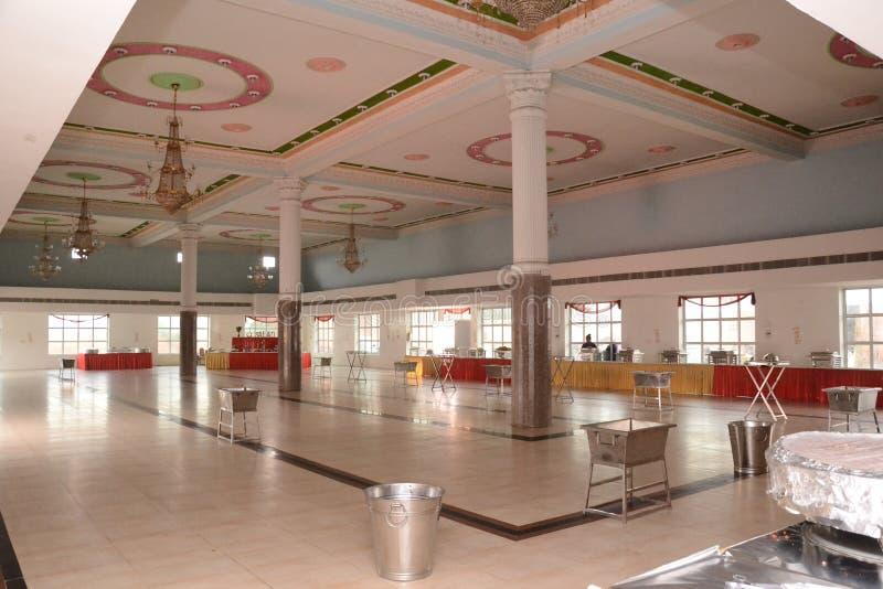 Индийское замужество Hall стоковые фотографии rf