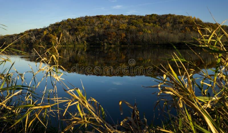 Индийское озеро, WI стоковые изображения rf