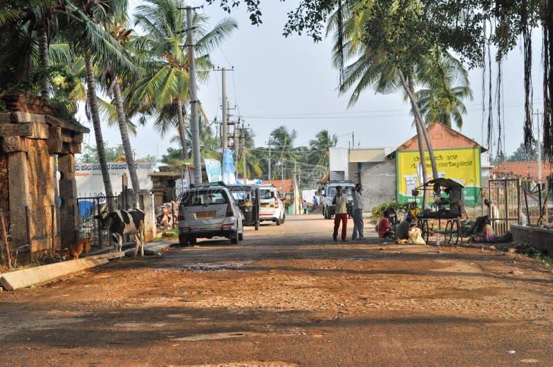 индийское село стоковые изображения rf