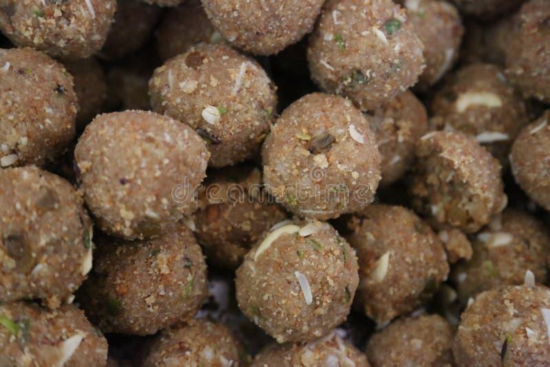 Индийское сладостное Laddu стоковая фотография rf