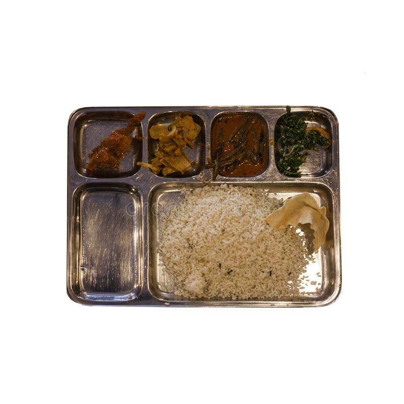Индийское Thali стоковая фотография rf