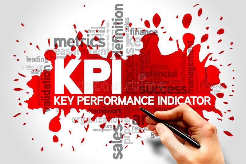 Индикаторы ключевой производительности стоковые фото