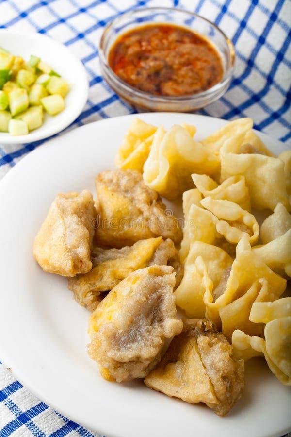 Индонезийская еда Batagor стоковое фото rf